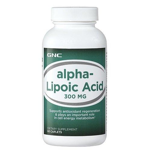 GNC Alpha Lipoic 300 mg - 60 Capsules