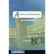 Auxiliares Administrativos, Ayuntamientos. Temario