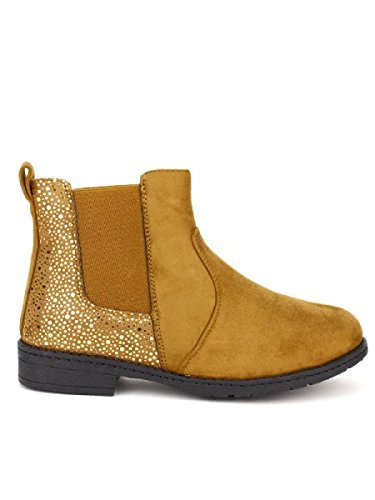 Cendriyon, Bottine camel HILLS Mode Chaussures Femme Caramel