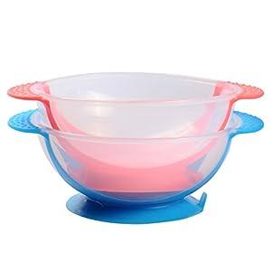 Ventouse Pet Gamelle pour chien chat petits animaux Voyage Gamelle à eau Bleu Rose couleur aléatoire