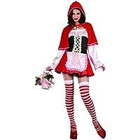 P'TIT CLOWN 83206 Sexy Deluxe Costume per travestimento da Cappuccetto