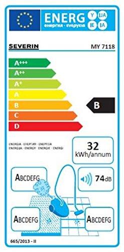 comprare on line Severin My 7118 Aspirapolvere Multiciclonico, senza Sacco, Blu Scuro prezzo