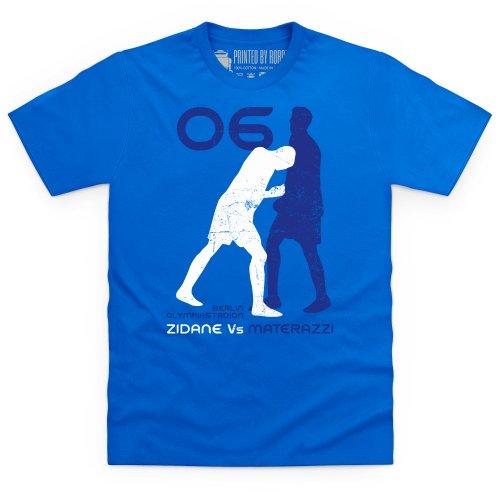 Football Icons Germany 2006 T-Shirt, Herren Royalblau