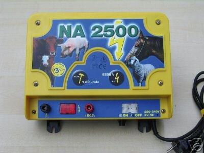 230 V Elektrozaun-Netzgerät/Stromgerät NA 2500 Weidezaungerät 1,8 Joule