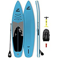 Indiana SUP 11'6 Family Inflatable Sup Pack with 3-Piece Fibre/Composite Paddle Blue 2018 Board