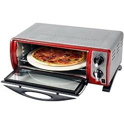 Efbe-Schott SC Gourmet et four à pizza avec pierre à pizza 30 cm. Rot