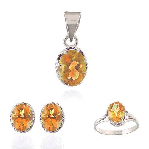 be-you-contemporanea-oro-citrino-vere-pietre-preziose-argento-sterling-rodiato-ciondolo-anello-e-ore