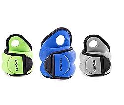 Weight cuffs set of 2 0,5kg 1kg 1,5kg | Spokey | Barrel weights Wrist weights with thumb loop COM FORM IV (2 x 0,5 kg)