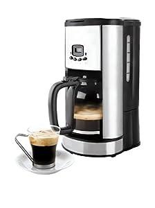 Lacor Programmable Filter Coffee machine, 1.8L, Black/Silver