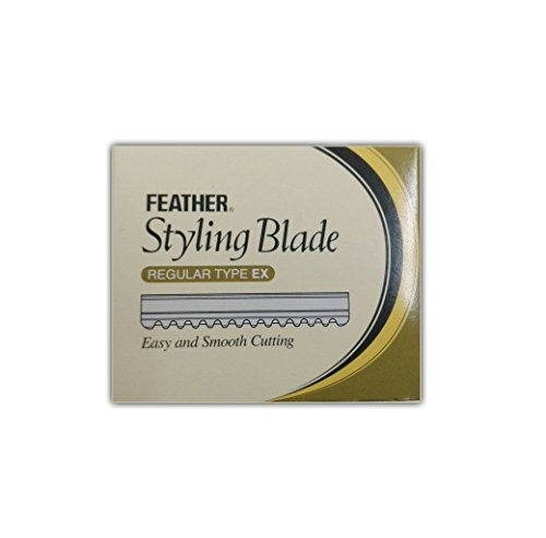 Feather Effilier Klingen TH 10 Stück (Feather Razor Blades 10)