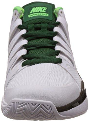 Nike Nike Zoom Vapor 9.5 Tour, Chaussures de sport homme Blanco / Black / Verde (White / Black-Vltg Green-Grg Grn)