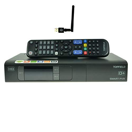 Topfield SRP-2401 CI+ Smart Urban mit 500GB Festplatte Twin Android HDTV Sat Receiver + WiFi [vorprogrammiert für Astra]