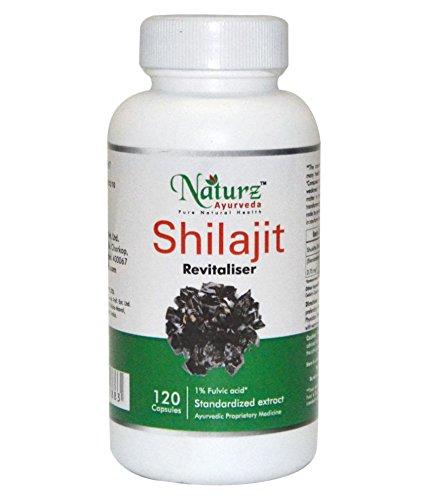 Naturz Ayurveda Shilajit Capsules - 120 Capsules