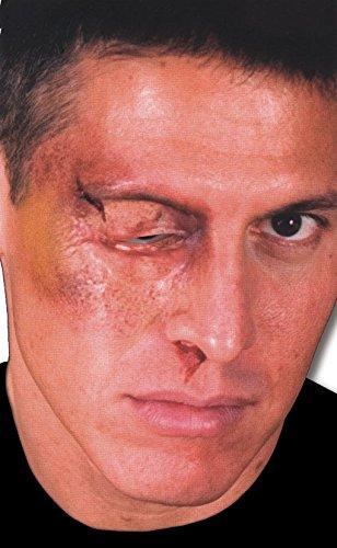 ollenes Auge Latexwunde als Spezial Make-up Effekt (Rocky Horror Make Up)