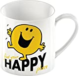 Creative Tops Mr. Men Mr. Happy Fine China Mug, Multi-Colour