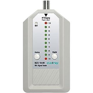 Axing BZU 10-00 BK-Signaltester Kabelfernsehen analog/digital