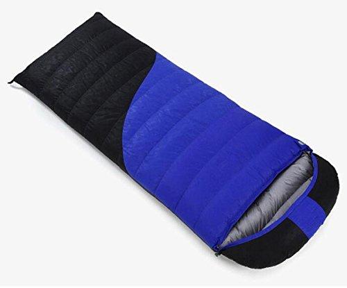 RJ YXX Schlafsack Warm bleiben Tragbar Umschlag Daunenschlafsack Im Freien Camping Winddicht Wasserdicht Anti-kalt, Kaschmir Inhalt von 800 Gramm -