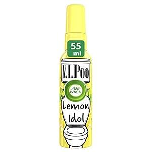 air wick vipoo pre poo spray lemon idol 55 ml single health personal care. Black Bedroom Furniture Sets. Home Design Ideas