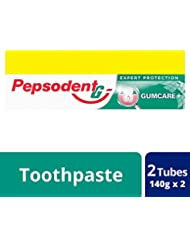 Pepsodent Expert Protection Gum Care Toothpaste - 140 g (Pack of 2 with Save Rupees 20/-)