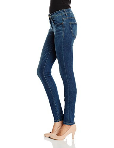 TOM TAILOR Skinny Alexa, Jeans Donna Blu (Dark Stone Wash Denim)