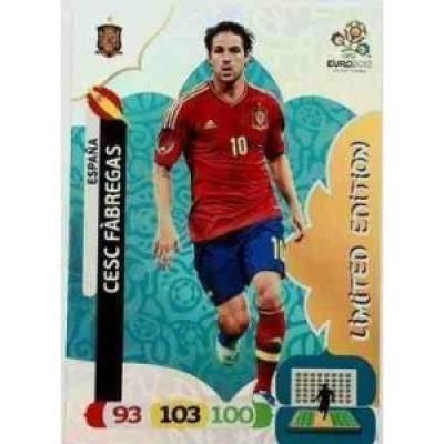 Usado, Euro 2012 Adrenalyn XL Limited Edition card Cesc Fabregas segunda mano  Se entrega en toda España