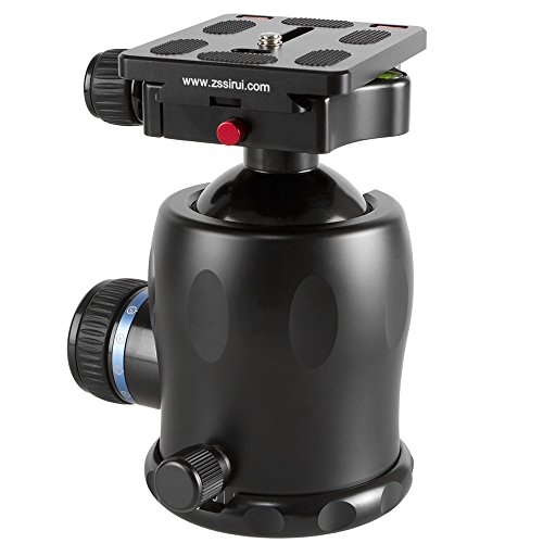 Affordable SIRUI K-40X Ball Head with Quick Release Plate on Amazon