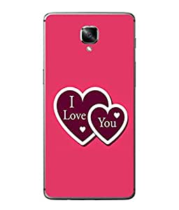 PrintVisa Designer Back Case Cover for OnePlus 3 :: OnePlus Three :: One Plus 3 (Heart Shapes Love Sweetheart Beloved )