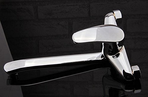 XXW Rubinetti Cucina Piatti caldi e freddi nel diametro di tubo d'ingresso di cucina rubinetto girevole cucina rubinetto a parete: