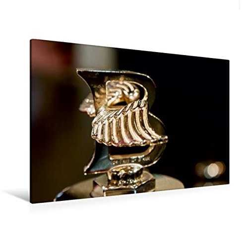 Premium Textil-Leinwand 120 cm x 80 cm quer, Bentley Kühlerfigur | Wandbild, Bild auf Keilrahmen, Fertigbild auf echter Leinwand, Leinwanddruck (CALVENDO Mobilitaet) (Bentley-kühlerfigur)