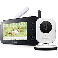 Samsung SEW-3040 - Vigilabebé (CMOS, 3 mm, 2x, 250m, M-JPEG, GFSK) Negro, Color blanco