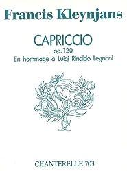 Kleynjans: Capriccio: Hommage a Luigi Legnani Op. 120