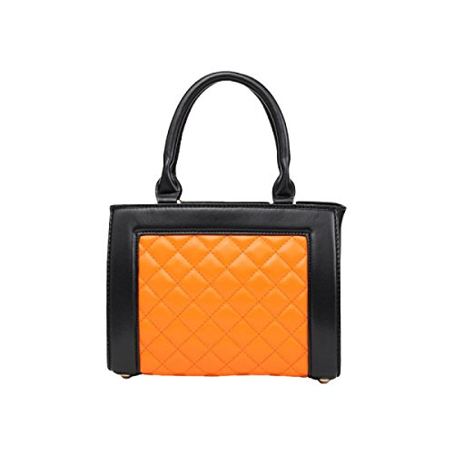 Handtasche Hit Farbe Mode Umhängetasche Damenhandtasche Messenger Bag Orange