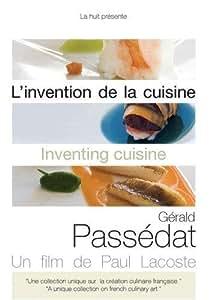 L'invention de la cuisine Gérald Passédat DVD