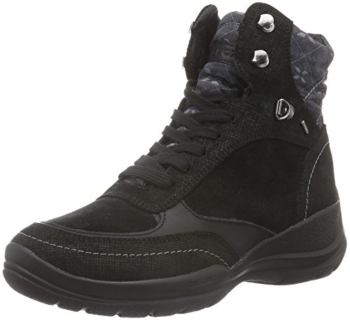 Geox Damen D HELLIN B ABX B Chukka Boots, Schwarz (BLACKC9999), 37 EU