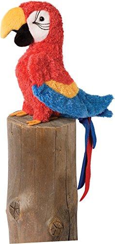 Cuddle Toys 3740Gaby RED PARROT Papagei Ara macao Vogel Kuscheltier Plüschtier Stofftier Plüsch Spielzeug