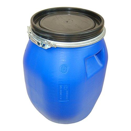 Siepe Deckelfass 30 Liter Behälter Tonne Fass Spannverschluss