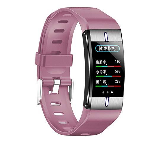 LJX Smart-Sportarmband, Körperfett Und Bewegung Mehr Gesundheitsüberwachungsmodus Smart Armbänder, Blutdruck Und Herzfrequenz-Messgeräte Wasserdicht IP68,4