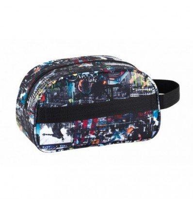 Safta Neceser Blackfit8 'Urban'Oficial Mediano con Asa 260x120x150mm