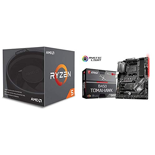 Pack placa base + procesador - Placa base MSI B450