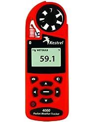 Kestrel 4000 Wetter und Umwelt-Windmesser mit Bluetooth-Orange