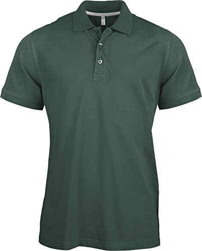 Piqué Poloshirt Forest Green
