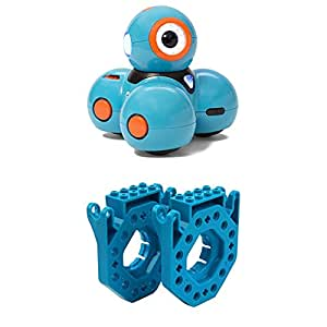 Wonder Workshop Dash Robot and LEGO - Connectors for Dash and Dot Robot -  Bring Coding to Life - Smart Robot for Girls and Boys