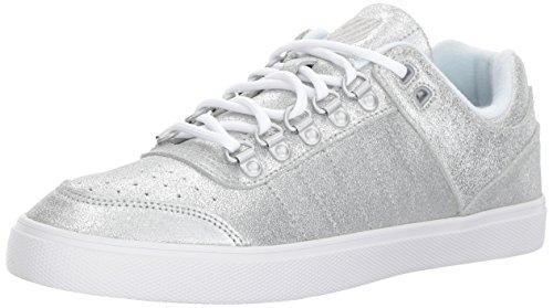 K-Swiss Damen Gstaad Neu Sleek Sde Sneaker, Silber (Silver), 41 EU