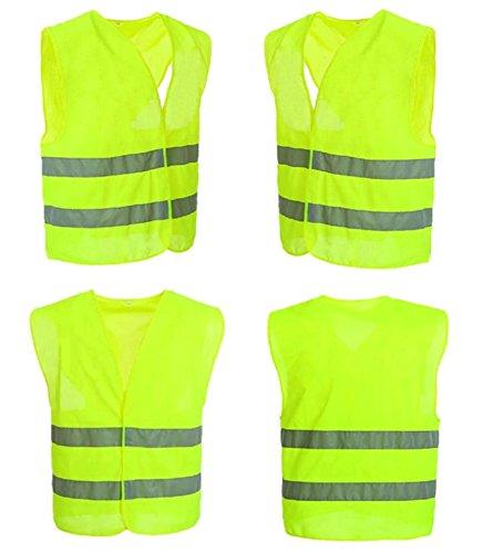 4-Stck-Warnweste-Sicherheitsweste-Neon-Gelb-Warnwesten-KFZ-EN-471-Signalweste-Unfall-Weste-STAR-LINE-Knitterfrei-Waschbar-Sicherheit-Weste-mit-Reflektorstreifen-und-Klettverschluss-Universalgre