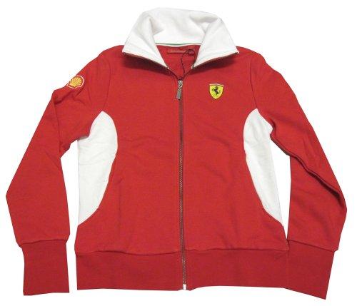 ferrari-sweat-shirt-zippour-femme-rouge-40-fr