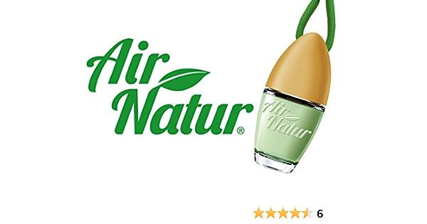 Air Natur 5 Stück Stylische Duftflakons Fürs Auto Und Zuhause Autoduft Raumduft Lufterfrischer Green Apple Apfel Auto