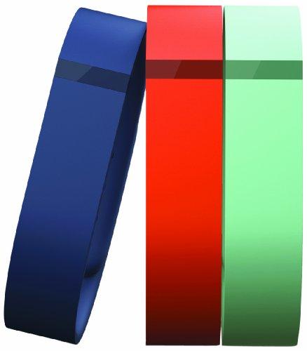 Fitbit small Flex Armband Accessory Pack, für kleinere Handgelenke, drei farben, FB401BTNTS-EU Marine-gps-tracking
