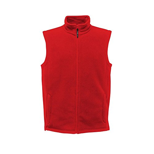 Regatta Herren Micro Fleece Bodywarmer Outdoor Weste, Classic Red, XXX-Large Classic Fleece