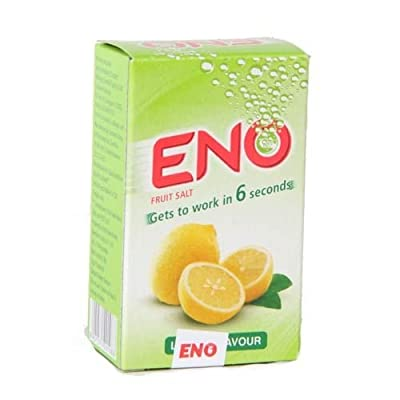 ENO Fruit Salt Fast Refreshing Relief Original Lemon Orange Regular Big Pack 60 Pcs by Eno