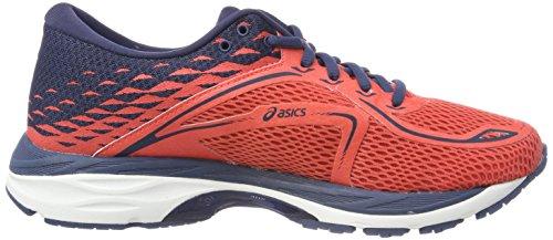 Asics Gel-Cumulus 19, Scarpe Running Uomo Arancione (Coralicious/Dark Blue/Dark Blue)
